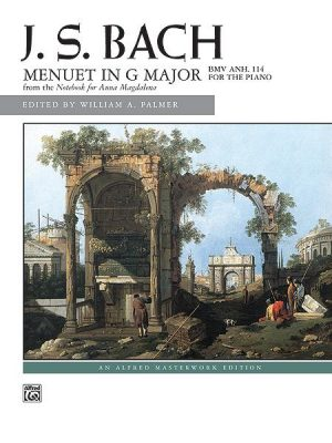 menuet in G majeur Bach